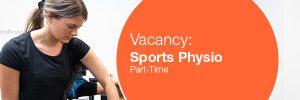 Vacancy Sports Physio